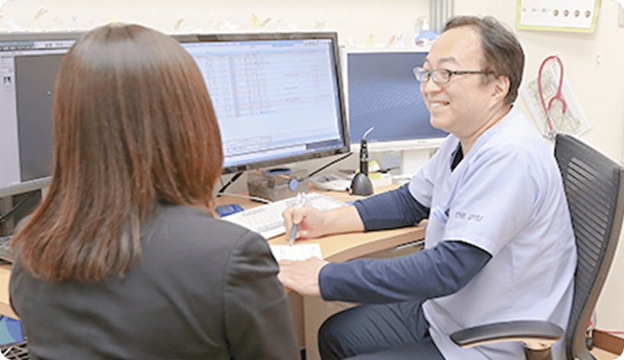 仙台の外科「みのりファミリークリニック」での診察